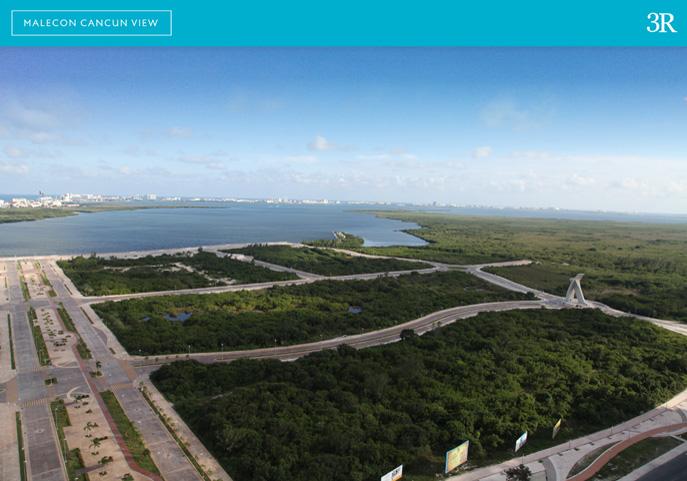 Malecon Cancún View