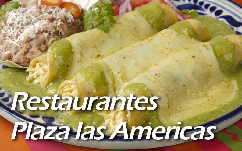 restaurantes plaza las americas